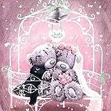 Puzzle Para Adultos, 1000 piezas Parche Winnie The Wedding Rompecabezas Clásico Niños Adultos Puzzles Diy Edificios Decoración Para El Hogar Festival Regalo Juego Intelectual Arte De La Pared 75X50Cm