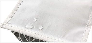 2 Pcs Over The Door Closet Organizer - Wall Closet Hanging Storage Bag with 3 Pockets, Linen Fabric Hanging Pocket Wall Mount