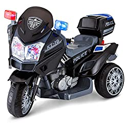 Kid Trax Police Rescue Motorcycle