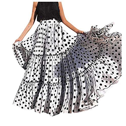 Faldas flamencas largas 😍