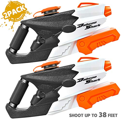 KIDPAR 2PACK Water Guns for Kids Adult , 1010CC Super Water Blaster Soaker Squirt Guns High Capacity Summer Swimming Pool Beach Party Favors Water Outdoor Fighting Toy for Boy Girl
