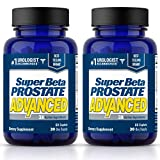 Super Beta Prostate Advanced Prostate Supplement for Men – Reduce Bathroom Trips, Promote Sleep, Support Urinary Health & Bladder Emptying. Beta Sitosterol not Saw Palmetto. (120 Caplets, 2- Pack)