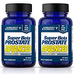 Super Beta Prostate Advanced. two-pack. Two-month supply