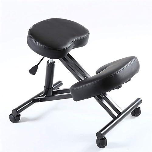 la mejor oferta de tienda online DOOKK Silla ergonómica para arrodillarse, posición ergonómica ortopédica ortopédica ortopédica de la Silla del Taburete de la Oficina de la Postura ortopédica  contador genuino