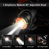 Zoom IMG-1 omeril lampada frontale led torcia