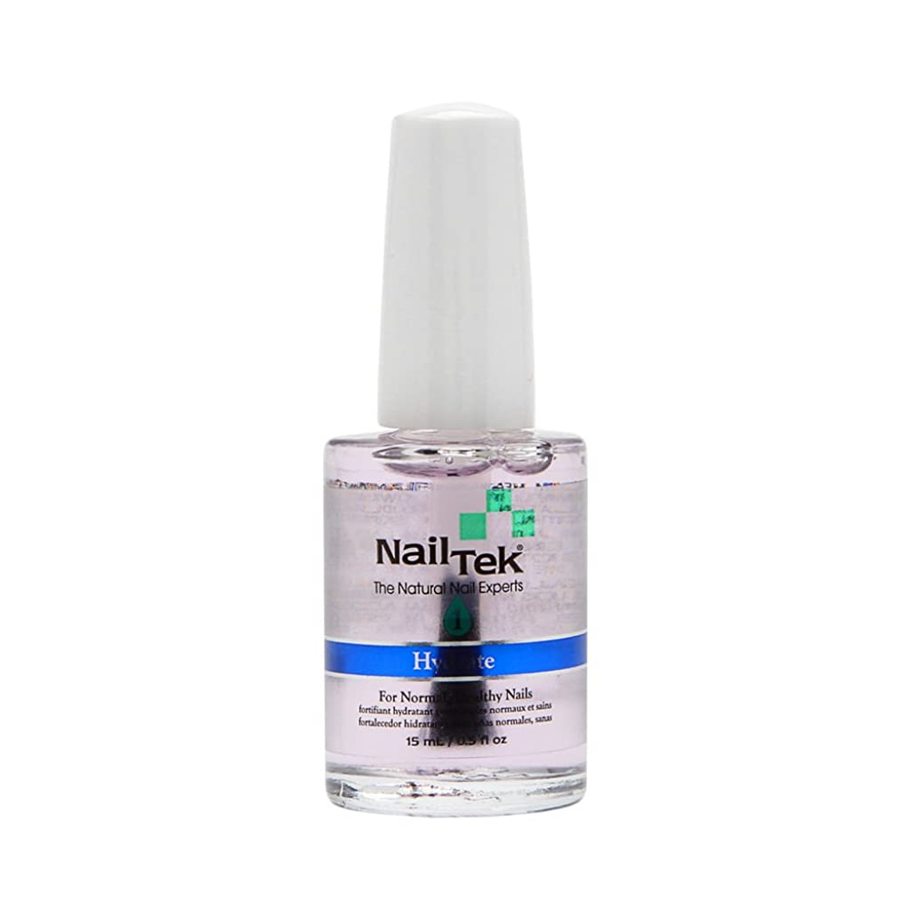 太字インタネットを見る豊富Nail Tek Treatment - Moisturizing Strengthener 1 - 0.5oz / 15ml
