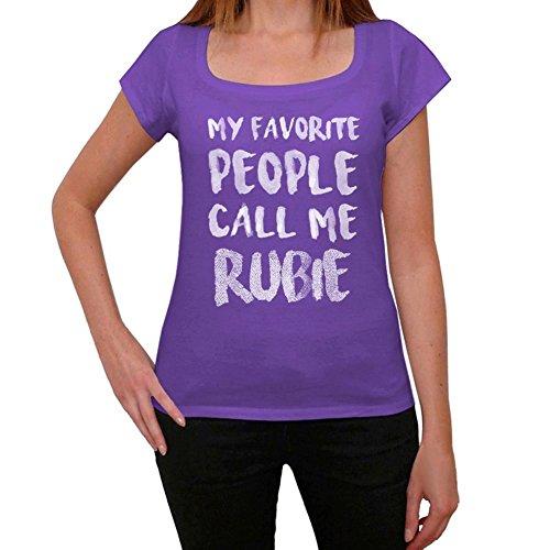 One in the City Rubie Mujer Camiseta Púrpura Regalo De Cumpleaños