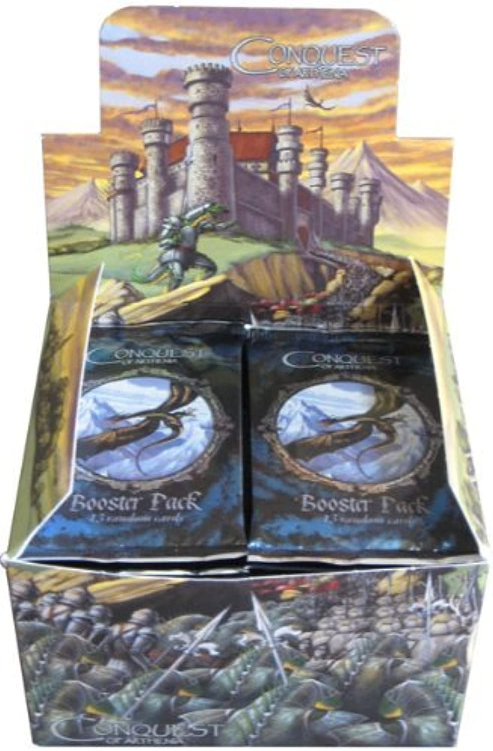 Conquest of Arthenia Booster Box of 36 Packs of Cards
