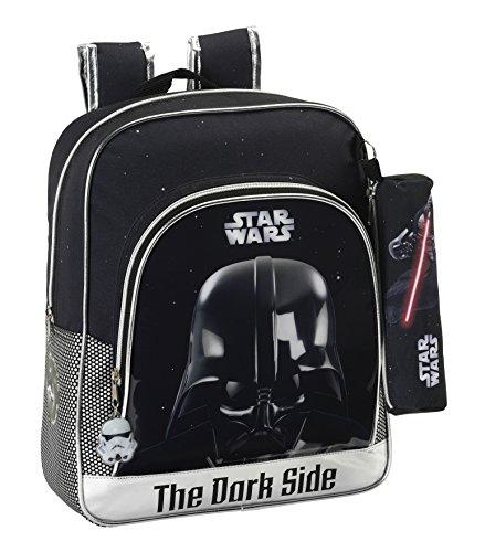 Star Wars–Rucksack für Kinder, anpassungsfähig an Kinderwagen (Safta 611501640)