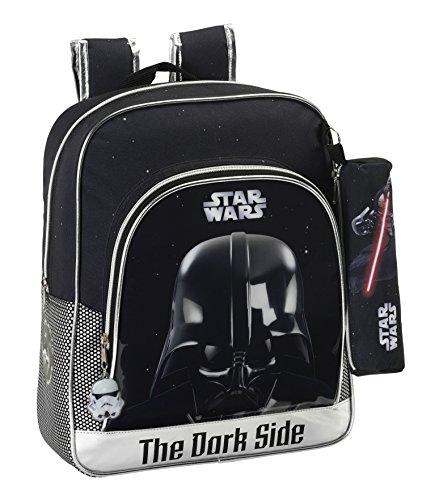 Star Wars - Mochila Junior Adaptable a Carro (SAFTA 611501640)