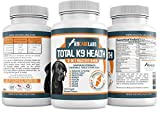 Dog Vitamins - 8 in 1 Daily Dog Multivitamin - 120 Chewable Tablets - Supports Joints and Bones, Skin and Coat, Digestion, and Vision and Eye Health - Made in USA