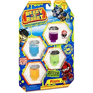 Ready2Robot Pilots Style 2 Collectable Toy, Multicolor (554011E5C) - 51wKdtPzcPL - Ready2Robot Pilots Style 2 Collectable Toy, Multicolor (554011E5C)