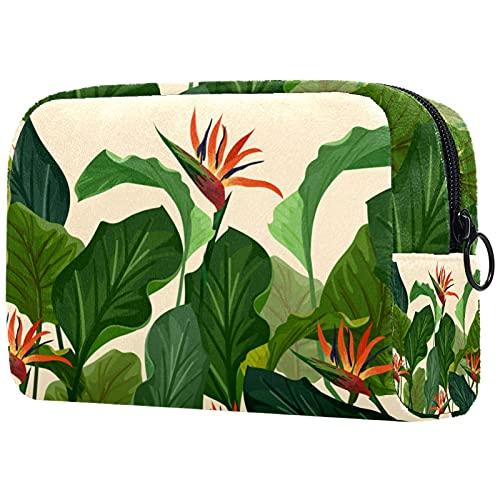 KAMEARI Bolsa cosmética verde grande organizador de bolsas de viaje multifuncionales