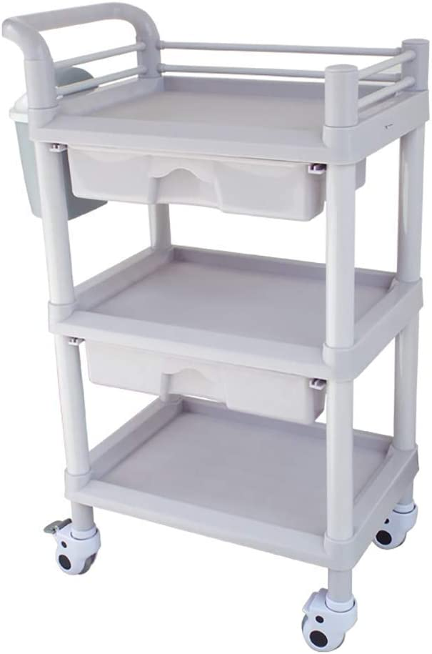LIMEI-ZEN Trolley Cheap mail order shopping On Wheels Tool ABS Portable SPA Sacramento Mall Rolling Beauty