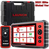 LAUNCH Scanner CRP909E OBD2 Scan Tool, Full System Car Diagnostic Tool with 15 Reset Functions, SAS/DPF/IMMO/ABS Bleed/TPMS Relearn Code Reader, Auto VIN Scan, One-Click Update OBD2 Scanner