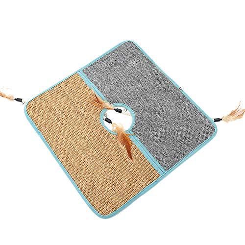 Kratzmatte für Haustiere, Krallenschaber, Katzenschutz, Möbelmatte, Sisal-Teppich