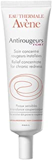 Eau Thermale Avene Antirougeurs FORT Soothing Concentrate Calming Redness Cream, 1.01 Fl Oz