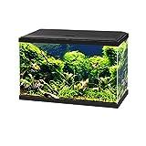 Ciano Aqua 60 LED Tropical Glass Aquarium - Filtro de luz calentador 58L negro