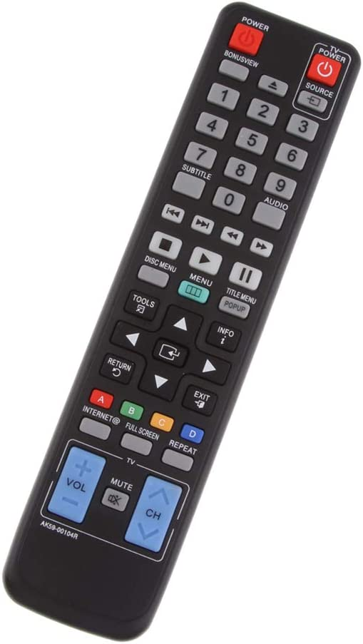 Homyl AK59-00104R Remote Sales of SALE service items from new works Control Replacement Dis for Blu-ray DVD