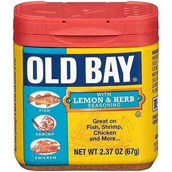 Old Bay Seasonings Lemon Herb 2.3 oz