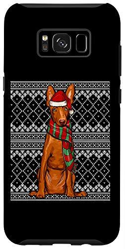 Galaxy S8+ Xmas Cirnechi dell'Etna Santa Claus Hat Ugly Christmas Case