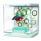 Marina Aquarium pour Aquariophilie Betta Kit Géo Bubbles