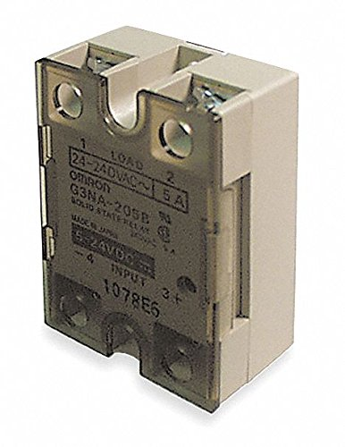 Omron G3NA-420B AC100-240 Solid State Relay, Zero Cross Function, Yellow Indicator, Photocoupler Isolation, 20 A Rated Load Current, 200 to 480 VAC Rated Load Voltage, 100 to 240 VAC Input Voltage