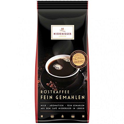 Niederegger Röstkaffee Fein gemahlen