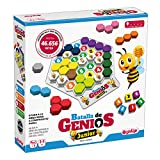 Lúdilo Batalla de genios Jr, Rompecabezas, Mesa Educativo, Puzzles para niños con Piezas de Madera, Juegos Tablero, Potencia la lógica y Velocidad, Multicolor (80980)