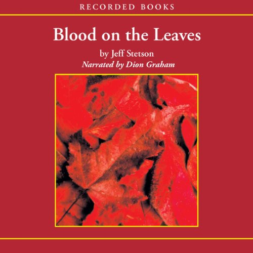Blood on the Leaves audiobook cover art