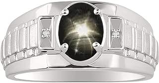 Best black star sapphire ring Reviews