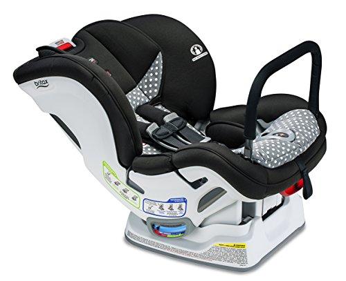 Best Price Britax Marathon ClickTight Anti-Rebound Bar Convertible Car Seat - 1 Layer Impact Protect...