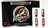WILDMAN New Natural Male Performance by The Makers of SCHWINNNG Trial Pack (4)...
