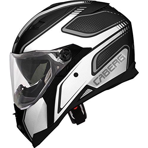 Caberg Integral Stunt Motorradhelm, Damen Herren, - matt schwarz, grau, anthrazit, L