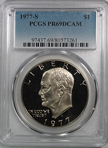 1977 S Eisenhower Ike Dollar $1 PR69DCAM PCGS