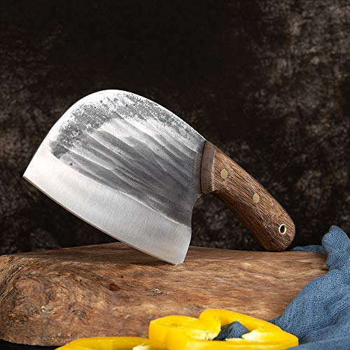 CHEF CHEZ CHEF DE CUCHILLA DE COCINA CUCHILLA CUCHILLA PREMIUM CLEA DE CARNE DE CARNE DE CARNE DE CARNE DE CARNE APERO EXTRA MANGO SOLIDO HANGULAR cuchillo chef de