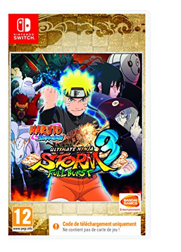 Naruto Ultimate Ninja Storm 3 Full Burst (Code de téléchargement pour Switch dans la boîte - pas de disque)