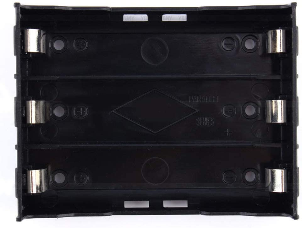 discountstore145 ABS Storage Box Holder Case for 1/2/3/4 Li-ion 18650 3.7V Battery Battery Holder for 3x18650 3.7-11.1v