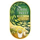 John West Filetes De Arenque En La Mostaza Y Eneldo 160g (Paquete de 2)