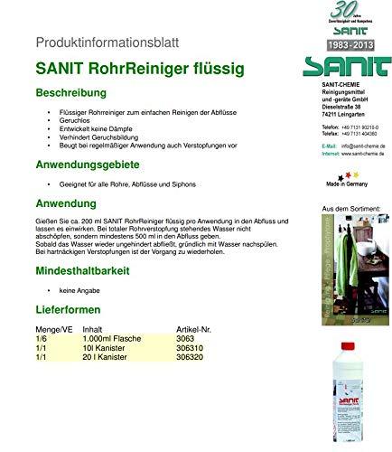 Sanit RohrReiniger flüssig - 2