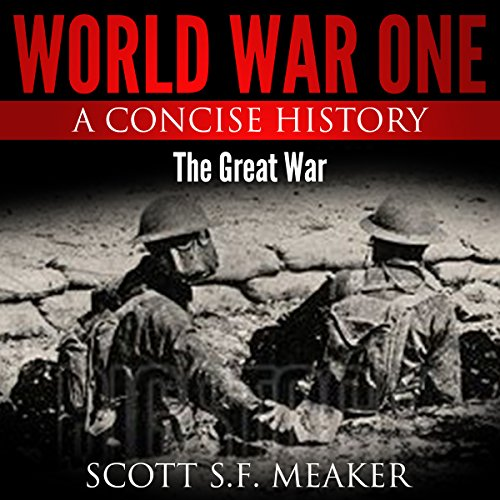 World War One: A Concise History audiobook cover art