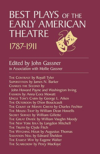 Best Plays of the Early American Theater Book