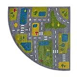 Teppich Paint Viertelkreis G4777 - Straßen...