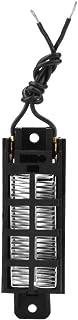 Zouminyy Calentador de aire de cerámica PTC Tipo conductivo 50W 12V Elemento calefactor
