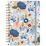 Ruled Notebook/Journal - Lined Journal with Premium Thick Paper, 8.45' X 6.38', College Ruled Spiral Notebook/Journal,...