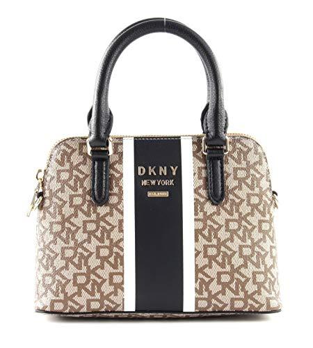 DKNY Whitney Schultertasche schwarz/braun
