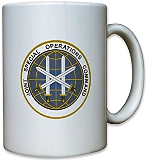 Joint Special Operations Command JSOC US United States Commanding facility Armed Forces Badge Emblem - Coffee Cup Mug