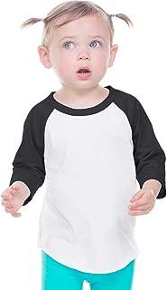 Kavio! Infant Jersey Contrast Raglan 3/4 Sleeve