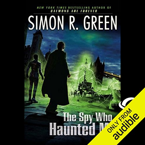 The Spy Who Haunted Me audiobook cover art