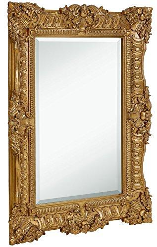 Hamilton Hills Large Ornate Gold Baroque Frame Mirror | Aged Luxury |...